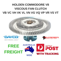 HOLDEN V8 COMMODORE VISCOUS FAN CLUTCH VB VC VH VK VL VN VG VP VQ VR VS VT