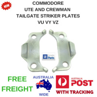 COMMODORE HOLDEN UTE VU VY VZ HSV MALOO CREWMAN TAILGATE  STRIKER PLATES