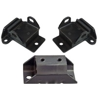 HOLDEN HK HT HG CHEVROLET 307 327 350 ENGINE AND GEARBOX MOUNT SET