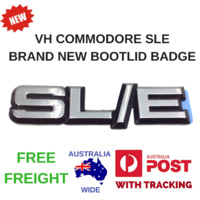 VH SLE HOLDEN COMMODORE NEW BOOT LID BADGE DECAL