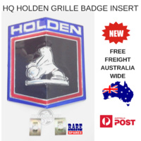 HQ HOLDEN KINGSWOOD PREMIER BELMONT GRILLE BADGE INSERT