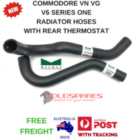 COMMODORE VN VG SERIES ONE V6 RADIATOR HOSES FOR REAR THERMOSTAT ONLY