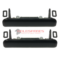 HOLDEN HQ-WB TORANA LH-LX NEW BLACK OUTER DOOR HANDLES COUPE SANDMAN