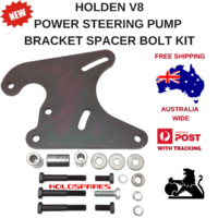 HOLDEN V8 POWER STEERING PUMP BRACKET SPACER AND BOLT KIT HQ HJ HX HZ WB
