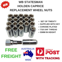 WB HOLDEN STATESMAN CAPRICE NEW REPLACEMENT WHEEL NUTS