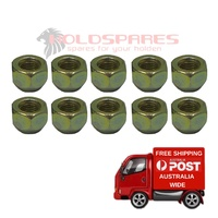 HOLDEN COMMODORE VB VC VH VK VL VN VP VR VS STANDARD NEW WHEEL NUT SET OF 10