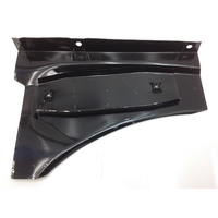 TORANA LH LX HATCH SEDAN BONNET HINGE RH INNER FENDER RUST REPAIR SECTION