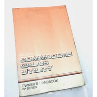 VP COMMODORE CALAIS UTILITY OWNERS MANUAL
