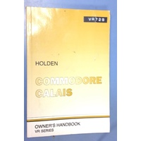 VR COMMODORE CALAIS OWNERS HANDBOOK