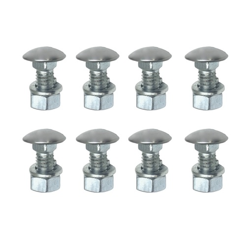 HOLDEN HJ HX HZ NEW BUMPER BAR BOLTS 3/8 UNC STAINLESS STEEL CAPPED