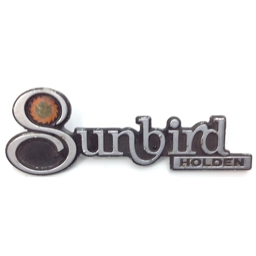 TORANA LH LX HOLDEN SUNBIRD BADGE GENUINE SECONDHAND