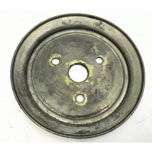 HOLDEN 6 CYLINDER RED BLUE MOTOR  AIR-CONDITIONING SINGLE  ROW PULLEY